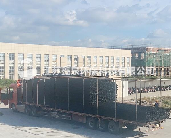 靖江环保工程有机硅袋笼发货